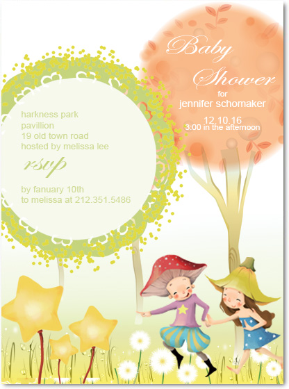 Wedding Invitations Online Fairy Tale Baby Shower